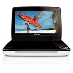 Philips PD9000/37 9-Inch LCD Portable DVD Player with 5 Hour Battery, White (Old Model)