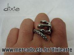 Anel Garra  www.mercado.etc.br/dixiearte