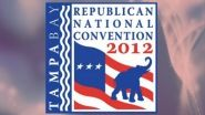TAMPA (CNN) — Mitt Romney arrived Tuesday at the shortened Republican National Convention in Tampa as organizers kept a nervous...
