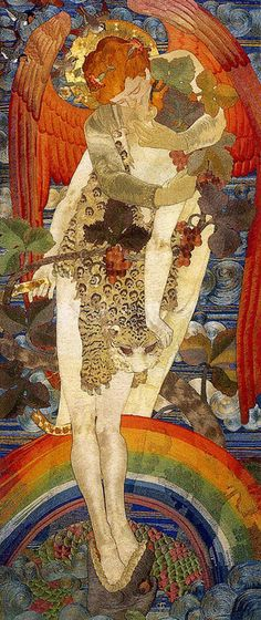 The Progress of the Soul by Phoebe Anna Traquair, 1895