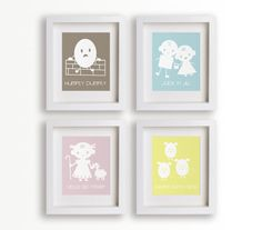 Nursery Rhyme Themed Rooms Decor For Kids