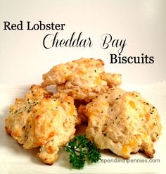 Copy Cat:  Red Lobster Style Cheddar Bay Biscuits