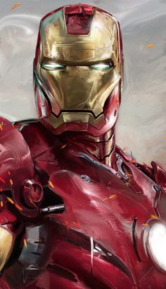 Iron Man by David Seguin