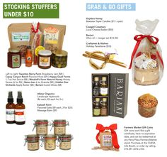 Stocking stuffers and grab & go gifts from the Ferry Plaza Farmers Market http://www.cuesa.org/article/holiday-gift-guide-2013