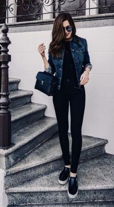 50 Stunning Spring Outfits Fashion Ideas for Women's – Awesome Canvas Bag pantalon negro 50 Stunning Spring Outfits Fashion Ideas for Women's Source by hagenesdakota outfits 2020 Spring Fashion Outfits, Edgy Outfits, Simple Outfits, Classy Outfits, Look Fashion, Fall Outfits, Autumn Outfits For Teen Girls, Spring Outfits Women Casual, Summer Work Outfits