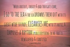 The Sea Quote this of so you April