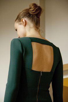 The back of a Roland Mouret dress