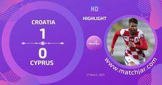 Soccer Highlights, World Cup Qualifiers, Croatia, Goals