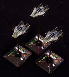 Star Wars X Wing Miniatures Game Green