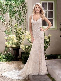 Jasmine Collection Spring 2017: Classic Feminine Wedding Dresses | TheKnot.com