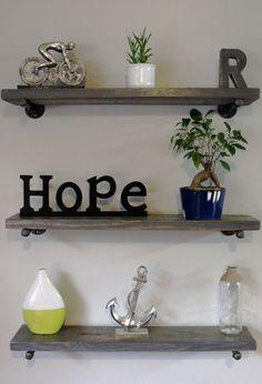 Floating shelf floating shelves shelf wood by ReclaimedWoodUSA