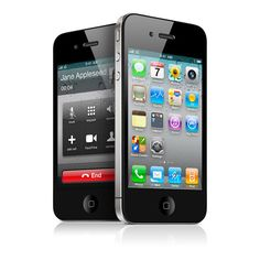 Apple - iPhone - iOS 4 is the world's most advanced mobile OS ❤ liked on Polyvore featuring electronics, phones and misc