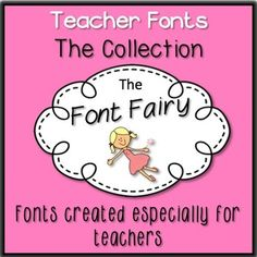 This is a collection of teacher fonts. (My first '20 Teacher Fonts' set is included in this download.) These fonts are free for personal use. If you wish to use them in products you will sell, please purchase a commercial license, which you can find here:Commercial License - Font Fairy FontsThe commercial license is valid for all 'Font Fairy Fonts', forever.