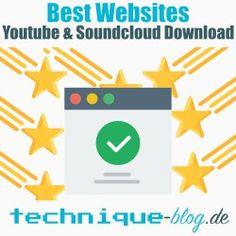 Youtube und Soundcloud Download mit diesen Websites auslösen
