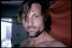 VIGGO MORTENSEN February 2009 Moviestar, poet, painter photographer…Is there nothing Viggo Mortensen can't do? Viggo Mortensen's always getting it out. Viggo Mortensen, Hobbit, Look At You, How To Look Better, Gorgeous Men, Beautiful People, Pretty People, Renaissance Men, Charming Man