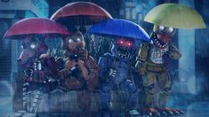 Rain by BugzBob on DeviantArt - Fulvia Marquess Five Nights At Freddy's, Freddy S, Animatronic Fnaf, Fnaf Wallpapers, Anime Fnaf, Otaku Anime, Fnaf Sl, Fnaf Drawings, Circus Baby