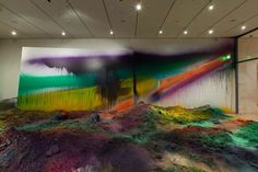 Artist Merges Layers of Dirt with Rainbows of Color