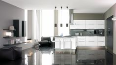 modern kitchen carrera - Google Search