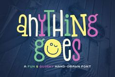 Anything Goes Font