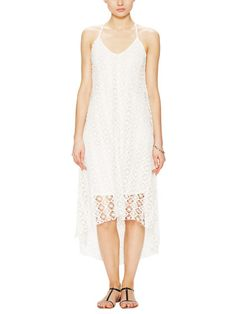 Crochet Maxi Dress by T-Bags Los Angeles at Gilt