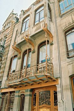Townhouse designed by Victor Horta