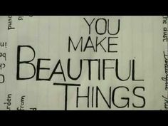 No matter what religion you follow, this song calms your soul... Beautiful Things - Gungor Lyric Video