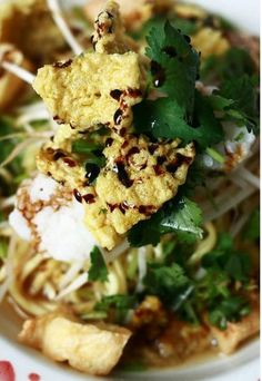 tahu campur ~ Semarang, Indonesia #Indonesian recipes #Indonesian cuisine #Asian recipes http://indostyles.com/