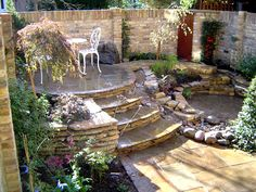 Сад  декорирование