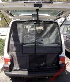 Eurovan Rear Hatch Screen - GoWesty Camper Products - parts supplier for VW Vanagon, Eurovan, and Bus