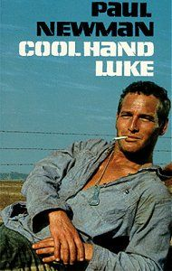COOL HAND LUKE (1967): A man refuses to conform to life in a rural prison. Academy Award for best actor in a supporting role.