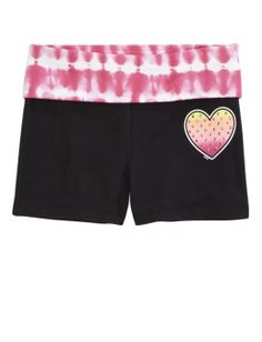 Tie Dye Sports Yoga Shorts