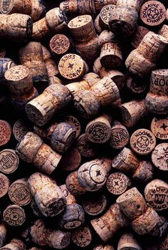 wine corks - a remembrance of outstanding occassions