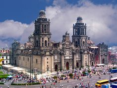 My first big city outside of USA at age 21...now 50 countries later!  The great Mexico City Cathedral