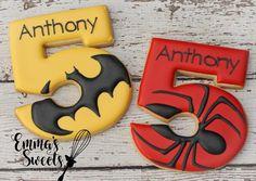 Superhero cookies ! @emmassweets
