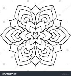 Easy mandala, mandalas coloring pattern for relaxation. Mandala Design, Mandala Dots, Mandala Pattern, Mosaic Patterns, Color Patterns, Embroidery Patterns, Mandala Art Lesson, Mandala Drawing, Mandala Painting