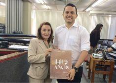 O Tribunal de Justiça do Estado do Ceará (TJCE) recebeu os alunos da Universidade de Fortaleza (UNIFOR) em uma visita guiada.