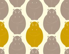 hippo fabric, @Kasey Mullins what can you make out of this??? curtains maybe? :)