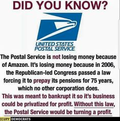 """What other company """"pre-pays"""" pensions?"""