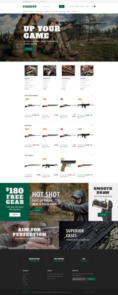 Gun Store WooCommerce Theme