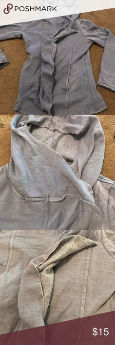 Girls flouncy hoodie DEEP DISCOUNTS TODAY Great flouncy sweatshirt in a periwinkle blue - bundle with other items for great price! NEED TO CLEAN OUT MY CLOSET Sugarfly Shirts & Tops Sweatshirts & Hoodies