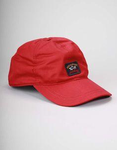 cd21e36426e Paul   Shark Red Logo Baseball Cap