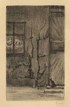 Reynek / Renaud, 1947 Etchings, Charcoal, Poetry, Printing, Illustrations, Ink, Drawings, Pictures, Graphic Art