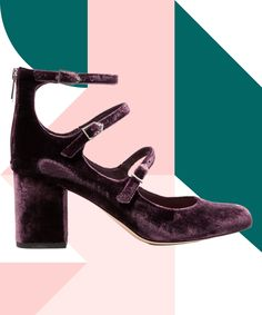 These velvet shoes are SO on point! A must for Fall. Pump Shoes, Women's Pumps, Sock Shoes, Shoe Boots, Velvet Shoes, Vegan Shoes, Fall Shoes, Cheap Shoes, Beautiful Shoes