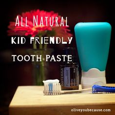kid friendly tooth paste all natural home made Tooth Paste, Peppermint, Teeth, Healthy Living, Homemade, Natural, Kids, Mint, Young Children
