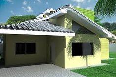 casa simples decoração moderna fachada - Pesquisa Google