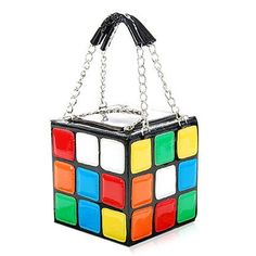 Stylish Color Block and Chains Design Women's Tote BagBags | RoseGal.com