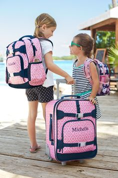 Are you and your family escaping the cold over spring break this year? Here are a few of our spring break essentials for family packing: Girls Luggage, Luggage Bags, Kids Luggage Sets, Kids Gifts, Baby Gifts, Kids Clothing Brands List, Diaper Bag, Kids Bags, Pottery Barn Kids