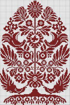 Cross stitch Pattern Ukrainian Embroidery Wedding Towel Rusnyk Napkin Pillow 4 r Cross Stitch Tree, Cross Stitch Samplers, Cross Stitch Charts, Cross Stitch Designs, Cross Stitching, Cross Stitch Patterns, Embroidery Sampler, Folk Embroidery, Cross Stitch Embroidery