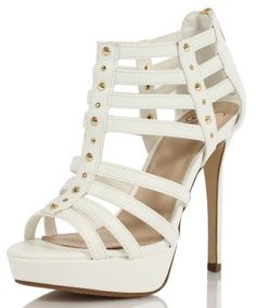 Delicious Women's Linter Faux Leather Strappy Studded Open Toe High Heel - http://www.theweddingshoes.com/delicious-womens-linter-faux-leather-strappy-studded-open-toe-high-heel/