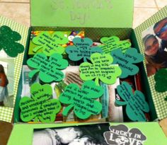 St. Patrick's Day care package // Shamrocks // Lucky to have you // Deployment package ideas // Crafting #MilitaryCarePackage